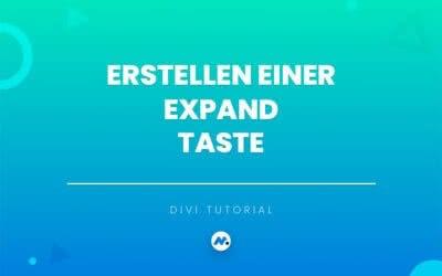 Erstellen einer Expand Taste