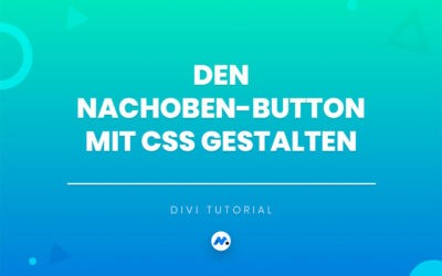 Den Nachoben-Button mit CSS gestalten